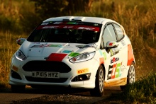 Alex Waterman / Glyn Thomas Ford Fiesta R2T