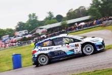 3 Rhys Yates / James Morgan - Ford Fiesta Rally2