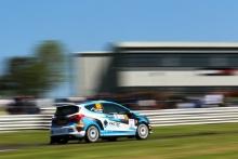 46 Ruairi Bell / Gareth Parry - Ford Fiesta Rally 4