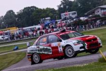 55 Donnie MacDonald / Jamie Edwards - Mitsubishi Lancer Evo