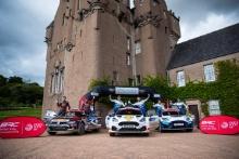 BRC Podium  - Matthew Wilson/ Elliott EdmondsonFord Fiesta Rally2 winners