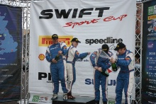 Suzuki Podium, Gordon Nichol/Jane Nicol Suzuki Swift and Nick Rowland/Tim Sturla  Suzuki Swift