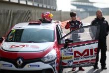 Lorcan Hanafin (GBR) Team Pyro Renault Clio Cup Junior