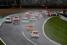 Race 2 Start at Brands Hatch