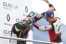 Jack McCarthy (GBR) Team Pyro Renault Clio Cup and Bradley Burns (GBR) Team Pyro Renault Clio Cup