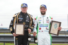 Jack McCarthy (GBR) Team Pyro Renault Clio Cup and Daniel Rowbottom (GBR) Team Pyro Renault Clio Cup