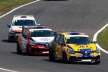 Nicolas Hamilton (GBR) JET with WDE Motorsport Renault Clio Cup