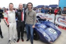 Richard Meaden, Marino Franchitti and Darion Franchitti