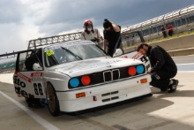 Silverstone Classic Media Day 2016,Silverstone Circuit, Northants, England. 27th April, 2016Nick Whale, BMW M3Copyright Free for editorial use