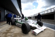 Silverstone Classic Media Day 2016,Silverstone Circuit, Northants, England. 27th April, 2016Mike Wrigley, Williams F1Copyright Free for editorial use