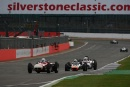 Silverstone Classic 2016, 29th-31st July, 2016,Silverstone Circuit, Northants, England.  Fred Harper Kurtis KK500GCopyright Free for editorial use only