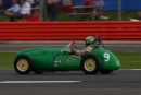 Silverstone Classic 2016, 29th-31st July, 2016,Silverstone Circuit, Northants, England.  Steve Russell Cooper Bristol Mk2Copyright Free for editorial use only