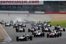 Silverstone Classic 2016, 29th-31st July, 2016,Silverstone Circuit, Northants, England. Start of the race Copyright Free for editorial use only
