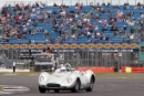 Silverstone Classic 2016, 29th-31st July, 2016,Silverstone Circuit, Northants, England. Fell-Nuthall Lister Jaguar KnobblyCopyright Free for editorial use only
