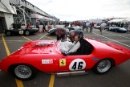 Silverstone Classic 2016, 29th-31st July, 2016,Silverstone Circuit, Northants, England. Sam Hancock Ferrari 246SCopyright Free for editorial use only