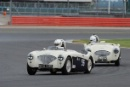 Silverstone Classic 2016, 29th-31st July, 2016,Silverstone Circuit, Northants, England. Nils-Fredrik Nyblæus Austin-Healey 100MCopyright Free for editorial use only