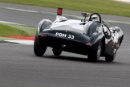 Silverstone Classic 2016, 29th-31st July, 2016,Silverstone Circuit, Northants, England. Katarina Kyvalova Cooper Jaguar T33Copyright Free for editorial use only
