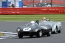 Silverstone Classic 2016, 29th-31st July, 2016,Silverstone Circuit, Northants, England. Pearson J-Pearson G Jaguar D-TypeCopyright Free for editorial use only