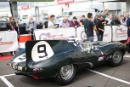 Silverstone Classic 2016, 29th-31st July, 2016,Silverstone Circuit, Northants, England. Eastick-Jones Jaguar D-TypeCopyright Free for editorial use only