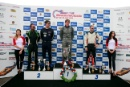 Silverstone Classic 2016, 29th-31st July, 2016,Silverstone Circuit, Northants, England. Podium, Chris Ward Cooper Jaguar T33Copyright Free for editorial use only