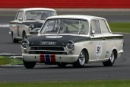 Silverstone Classic 2016, 29th-31st July, 2016,Silverstone Circuit, Northants, England. Arne Berg Ford Lotus CortinaCopyright Free for editorial use only
