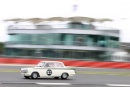 Silverstone Classic 2016, 29th-31st July, 2016,Silverstone Circuit, Northants, England. Dunham-Owen Ford Lotus CortinaCopyright Free for editorial use only