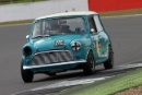 Silverstone Classic 2016, 29th-31st July, 2016,Silverstone Circuit, Northants, England. Wright-Twyman Austin Mini Cooper SCopyright Free for editorial use only