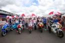 Silverstone Classic 2016, 29th-31st July, 2016,Silverstone Circuit, Northants, England. World GP Bike Legends DemonstrationCopyright Free for editorial use onlyMandatory credit – Jakob Ebrey Photography