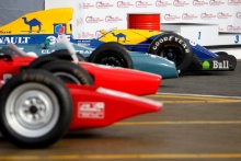Silverstone Classic Media Day 2017,Silverstone Circuit, Northants, England. 23rd March 2017.Williams FW14B.Copyright Free for editorial use.