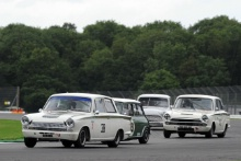 Silverstone Classic 28-30 July 2017At the Home of British MotorsportJohn Fitzpatrick U2TCHAZELL Mark, STRETTON Martin, Ford Consul Cortina LotusFree for editorial use onlyPhoto credit –  JEP