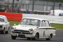 Silverstone Classic 28-30 July 2017At the Home of British MotorsportJohn Fitzpatrick U2TCATTARD Marco, Ford Lotus CortinaFree for editorial use onlyPhoto credit –  JEP