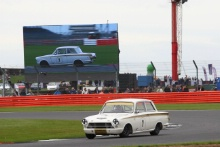 Silverstone Classic 28-30 July 2017At the Home of British MotorsportJohn Fitzpatrick U2TCSOPER Steve, Ford Lotus CortinaFree for editorial use onlyPhoto credit –  JEP