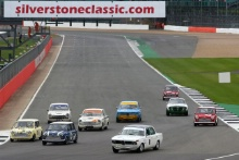Silverstone Classic 28-30 July 2017At the Home of British MotorsportJohn Fitzpatrick U2TCGOFF Max, GOFF Ian, BMW 1800 Ti Free for editorial use onlyPhoto credit –  JEP