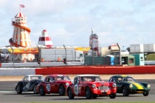Silverstone Classic 28-30 July 2017 At the Home of British Motorsport CORFIELD Martyn, Austin HealeyFree for editorial use only Photo credit – JEP