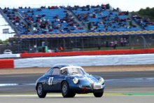 Silverstone Classic 28-30 July 2017 At the Home of British Motorsport BANKS Andrew, BANKS Maxim,  Alfa Romeo Giulietta SZFree for editorial use only Photo credit – JEP