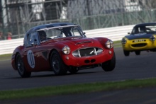 Silverstone Classic 28-30 July 2017 At the Home of British Motorsport SCHILDT Anders, LOCKIE Calum, Austin Healey 3000Free for editorial use only Photo credit – JEP