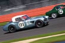 Silverstone Classic 28-30 July 2017 At the Home of British Motorsport BELL Alex,  Austin HealeyFree for editorial use only Photo credit – JEP