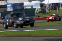 Silverstone Classic 28-30 July 2017 At the Home of British Motorsport Kirkaldy-WatsonJaguar E-TypeFree for editorial use only Photo credit – JEP