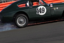 Silverstone Classic 28-30 July 2017 At the Home of British Motorsport Woodgate-GreavesAston Martin DB Mk3Free for editorial use only Photo credit – JEP
