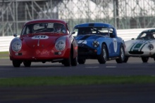 Silverstone Classic 28-30 July 2017 At the Home of British Motorsport WRIGHT Steve, CLARK Ian, Porsche 356A SuperFree for editorial use only Photo credit – JEP