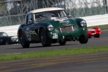 Silverstone Classic 28-30 July 2017 At the Home of British Motorsport WORTHINGTON Tony, MIDGLEY Mark, Austin Healey 3000 MK3Free for editorial use only Photo credit – JEP