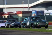 Silverstone Classic 28-30 July 2017 At the Home of British Motorsport MULLER Urs, MÜLLER Arlette,  Aston Martin DB4GTFree for editorial use only Photo credit – JEP