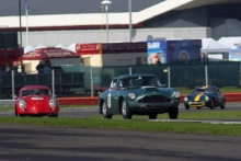 Silverstone Classic 28-30 July 2017 At the Home of British Motorsport RAWE Robert, SANZ DE ACEDO Xavier, Aston Martin DB4Free for editorial use only Photo credit – JEP
