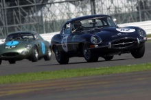 Silverstone Classic 28-30 July 2017 At the Home of British Motorsport Bob Binfield Jaguar E-TypeFree for editorial use only Photo credit – JEP