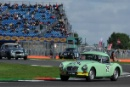 Silverstone Classic 28-30 July 2017At the Home of British MotorsportRAC Tourist Trophy for Pre 63 GTELLIS Mark, BOS Conrad, MG MGA Twin Cam Free for editorial use onlyPhoto credit –  JEP