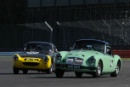 Silverstone Classic 28-30 July 2017At the Home of British MotorsportRAC Tourist Trophy for Pre 63 GTELLIS Mark, DANIELL Mark, MG MGA Twin Cam Free for editorial use onlyPhoto credit –  JEP