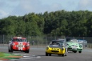 Silverstone Classic 28-30 July 2017At the Home of British MotorsportRAC Tourist Trophy for Pre 63 GTCLEGG Charles, CLEGG Christopher, Austin Healey Sebring SpriteFree for editorial use onlyPhoto credit –  JEP