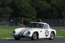 Silverstone Classic 28-30 July 2017At the Home of British MotorsportRAC Tourist Trophy for Pre 63 GTBROMLEY Shaun, BROMLEY Josh, TVR Grantura Iia Free for editorial use onlyPhoto credit –  JEP