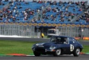 Silverstone Classic 28-30 July 2017At the Home of British MotorsportRAC Tourist Trophy for Pre 63 GTYOUNG John, YOUNG Jack, Jaguar E-Type Free for editorial use onlyPhoto credit –  JEP