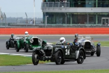 Silverstone Classic 28-30 July 2017At the Home of British MotorsportKidston Trophy Pre War HUNT Martin, HUNT Theo, Frazer Nash TT RepFree for editorial use